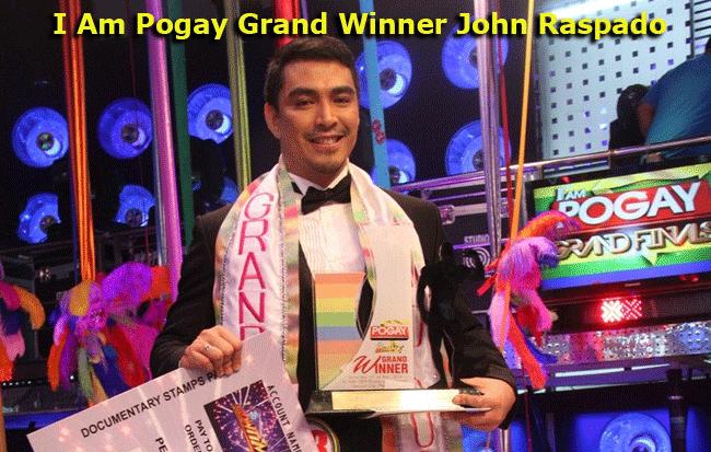 I Am Pogay Grand Winner John Raspado