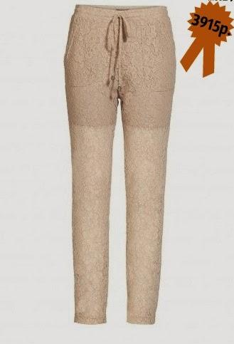 Кружевные брюки Apart