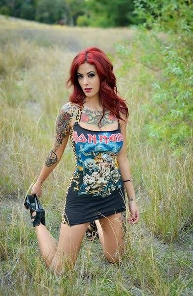 Sexy Girls With Tattoos Alyssa Mulisha