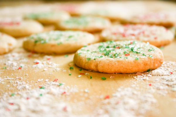Bakergirl: Cinnamon Sugar Cookies.