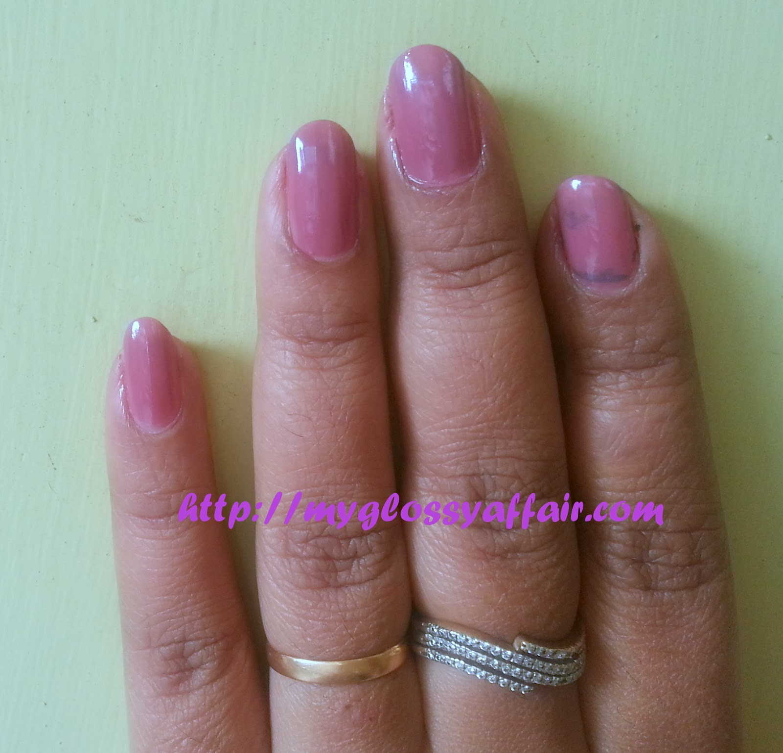LÓreal Paris Pro Manicure Nail Polish  – Mauvie Star 340 Review, Pictures and Swatches