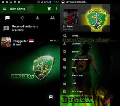 BBM MOD Persebaya Bajul Ijo v2.10.0.31 APK