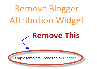 Blogger Attribution Gadget