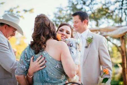 McGowan Images, Texas Ranch Wedding, Flower Presentation