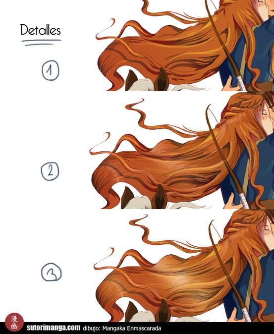 Sutori: Tutorial de coloreado en Photoshop (por Enmascarada)