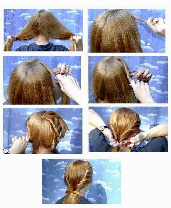Style a Glamorous Hair Style...