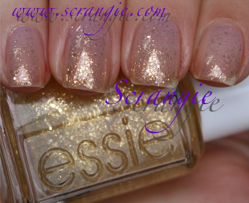 Essie Gold Glitter Essie as Gold as it Gets