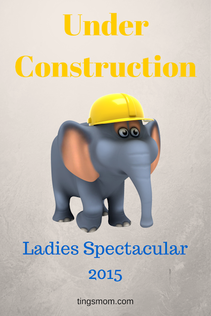 annual ladies spectacular under construction