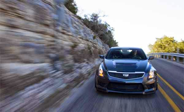 2016 Cadillac ATS-V Coupe First Drive US