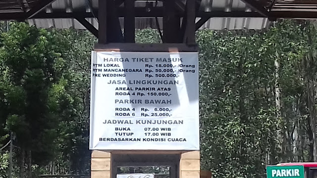 Harga Tiket Masuk Kawah Putih Ciwidey Bandung