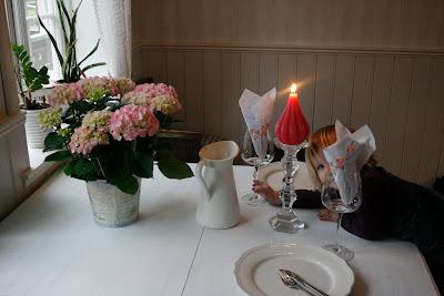 romantisk middag hjemme