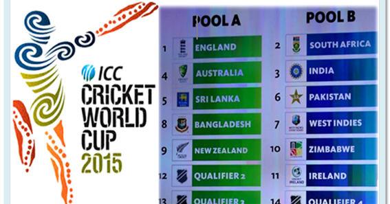 Cricket World Cup 2015 Match Schedule ~ Snipping World!