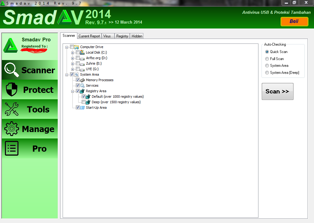 Download Smadav 9.7.1 Update Full Serial Terbaru