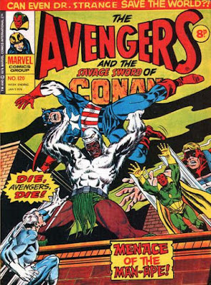Marvel UK, Avengers #120 Man-Ape
