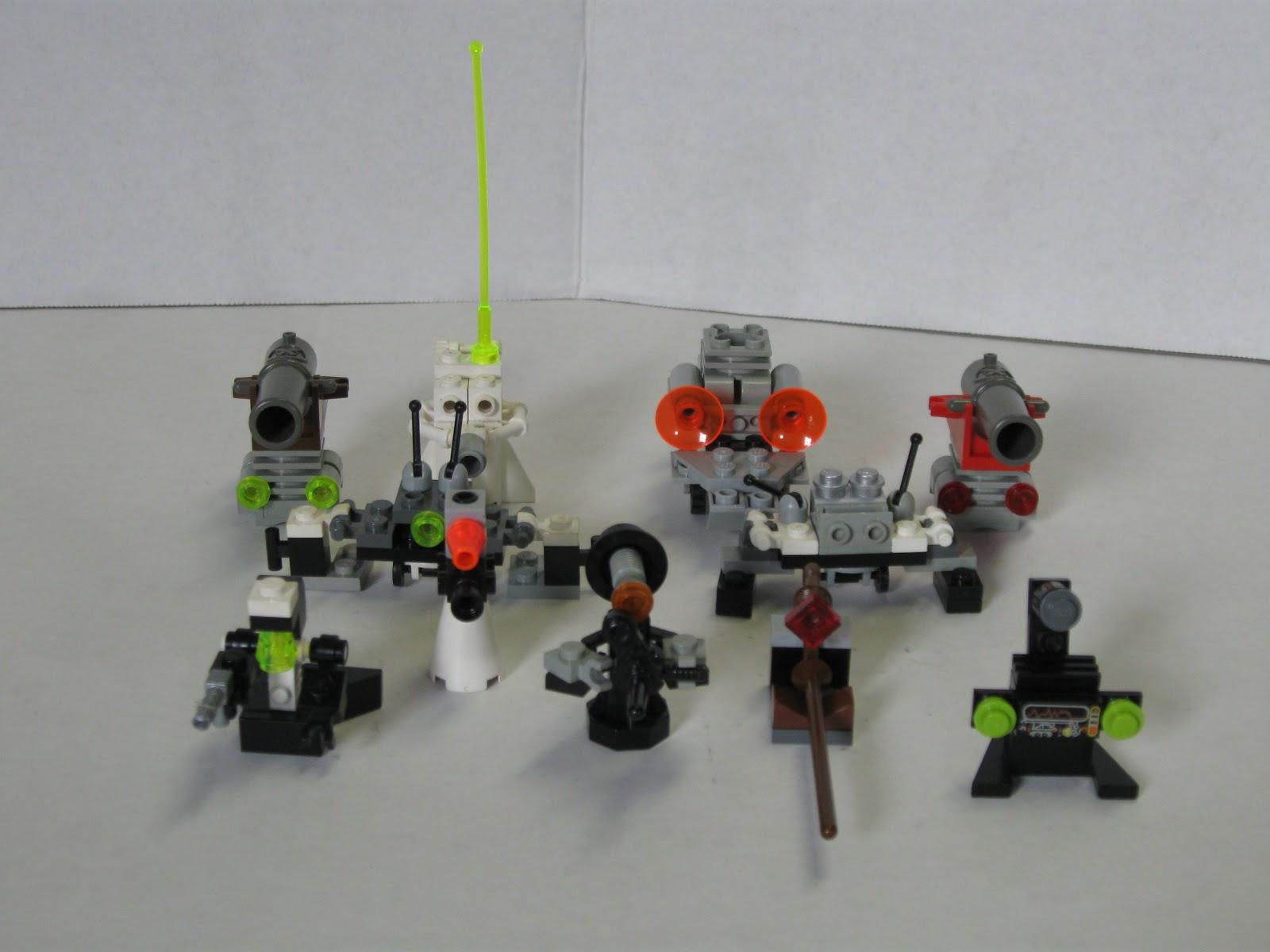 Как сделать из лего гигантского робота