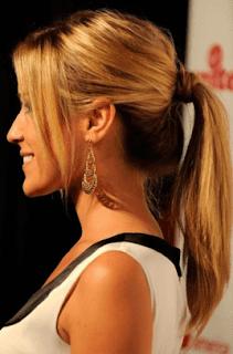 model rambut High Ponytail