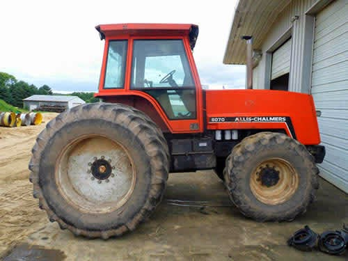 allis chalmers 8070 tractor salvage