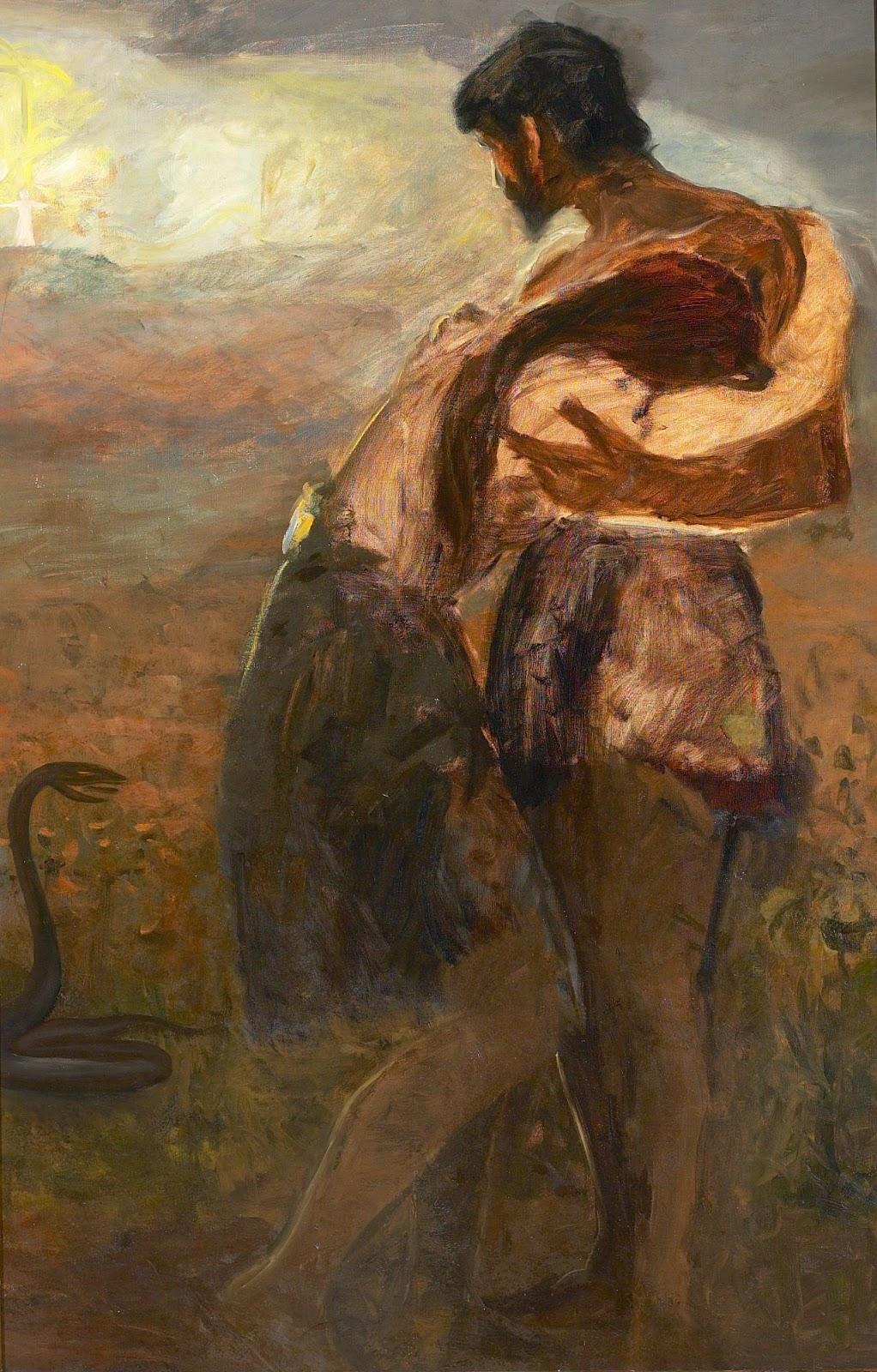 Hans Andersen  rendekilde Adam og Eva forvist fra Paradiset