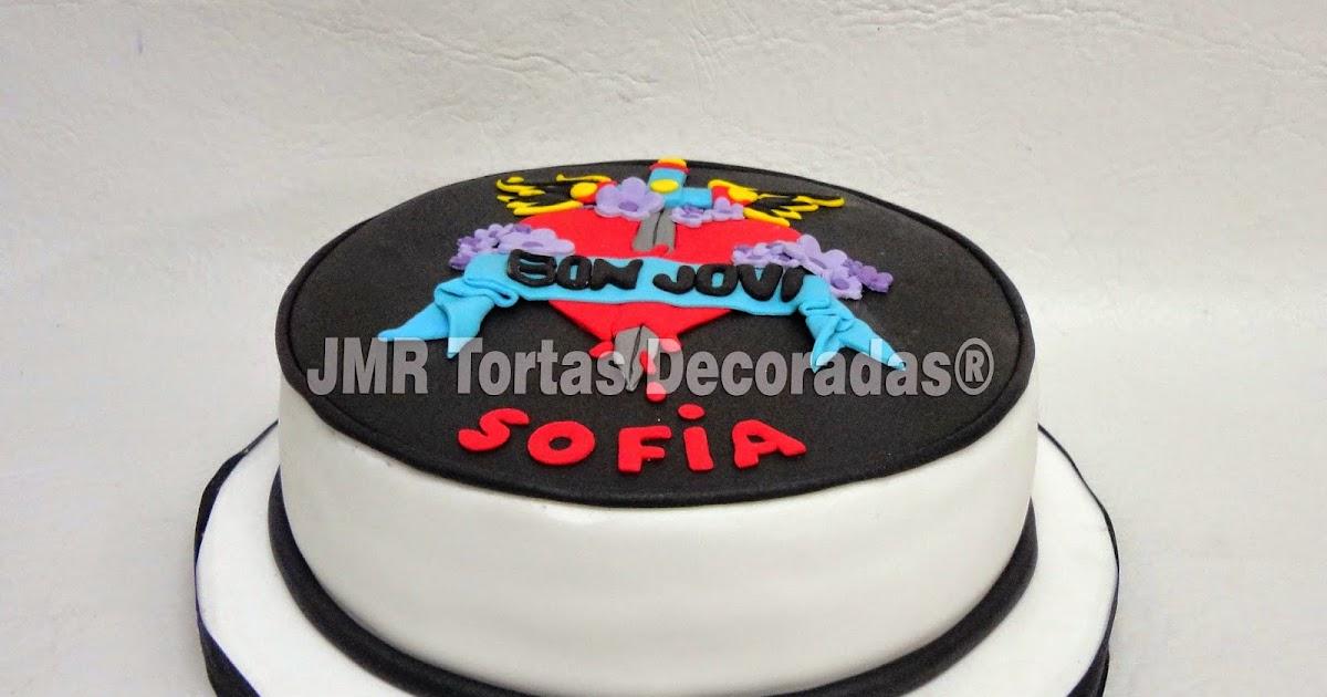 Torta Bon Jovi | JMR Tortas Decoradas