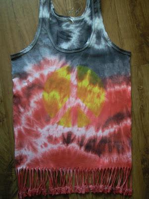 diy-boho-hippie-frędzle-koszulka-lucky loser