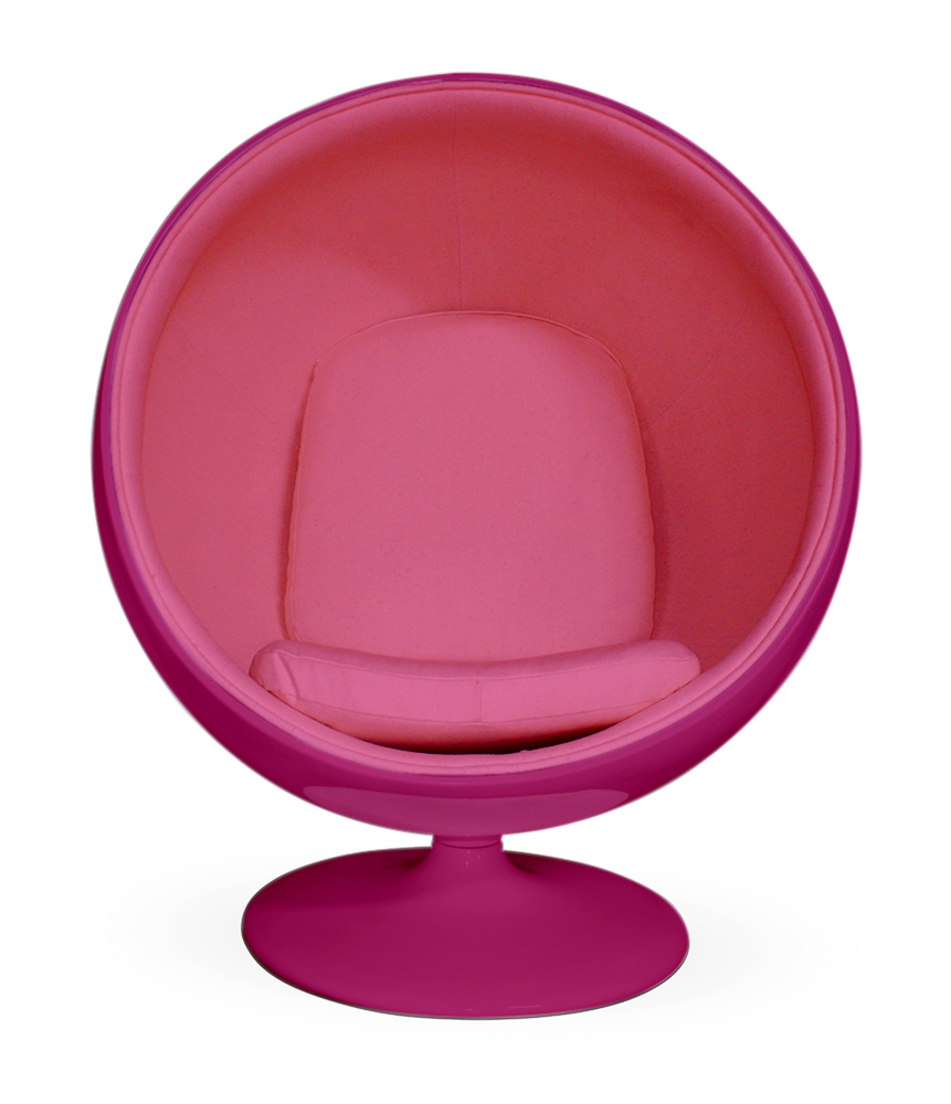 Purple bubble chair - Breast Cancer Awareness Month Three Charity Auctions Of Ball Barcelona And Hanging Bubble Chairs