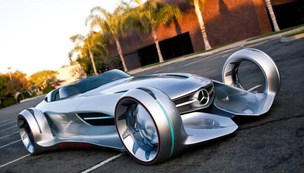 2016 Mercedes Silver Arrow Concept Silver Interior