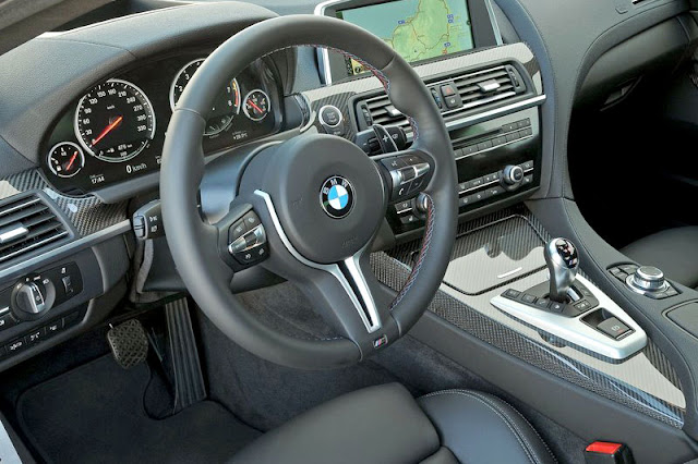2013 BMW M6 Coupe Front Interior Rear View