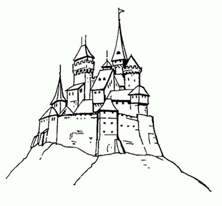 Coloring Pages: Frozen Castle Coloring Pages Free and Printable