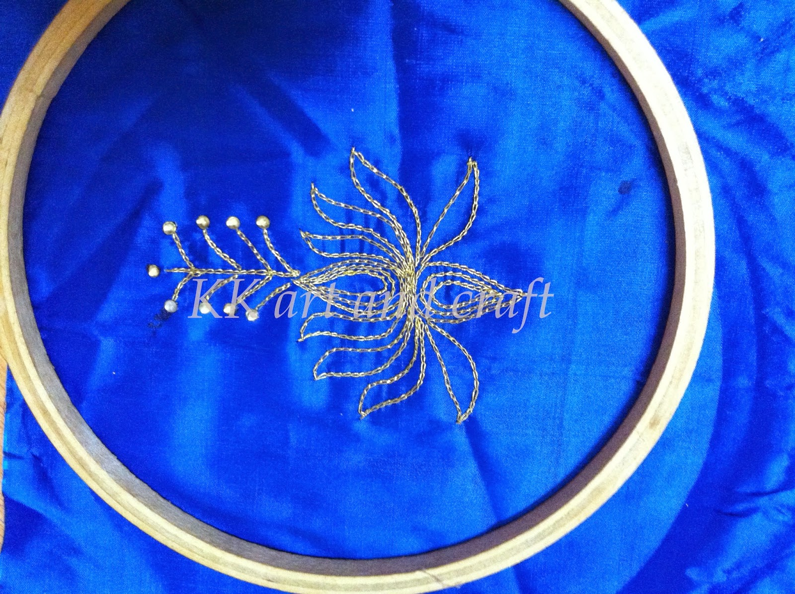 Kk arts and crafts aari embroidery tutorial links