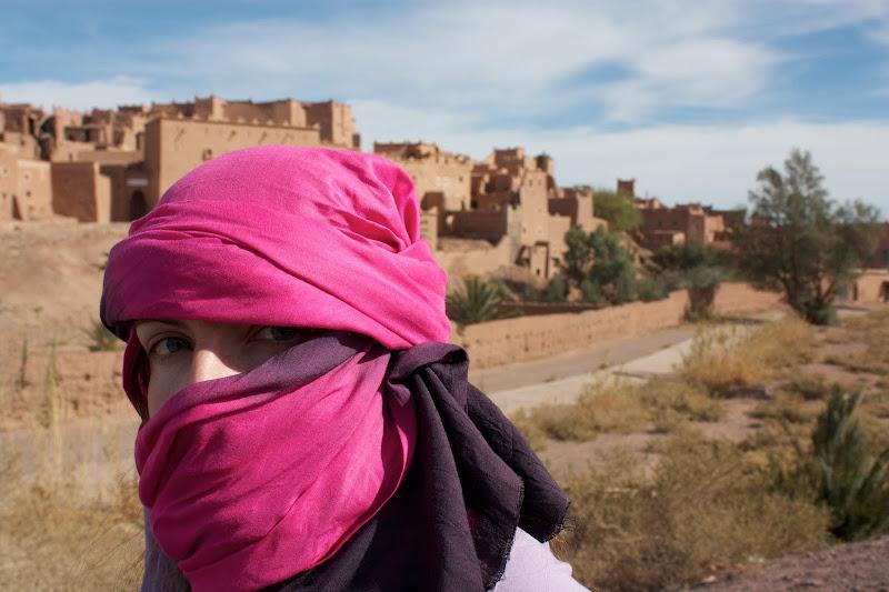 monica en Ait Ben Hadu
