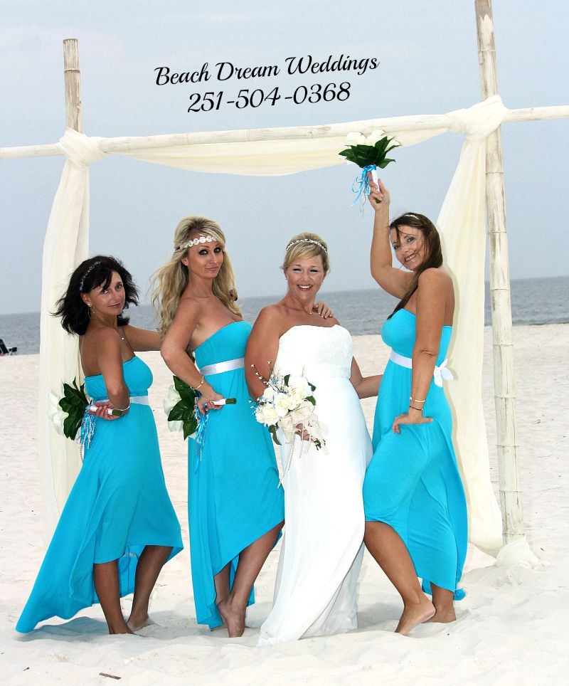 Romantic Gulf Coast Beach Weddings
