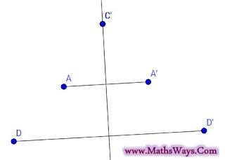 سلسلة كيف انشئ شكلا هندسيا؟ حلقة2 - صورة نقطة بتماثل محوري