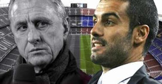 Las diferencias entre Cruyff y Guardiola