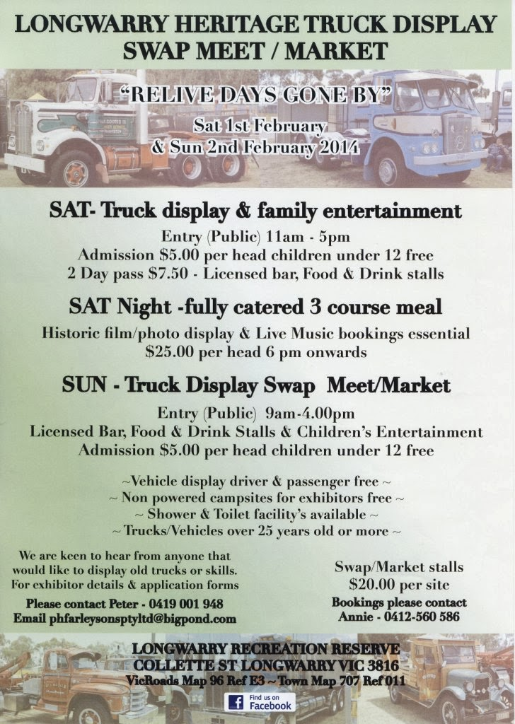 Longwarry Heritage Truck Display