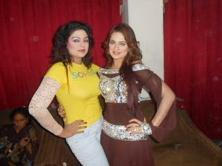 Sobia Khan and Aasma Latta Hot Photoshot