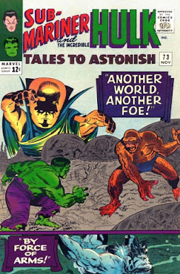 Tales to Astonish #73, the Hulk and the Watcher
