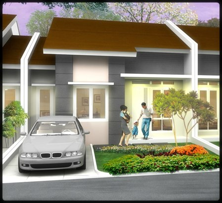desain rumah sederhana 1 lantai model rumah minimalis