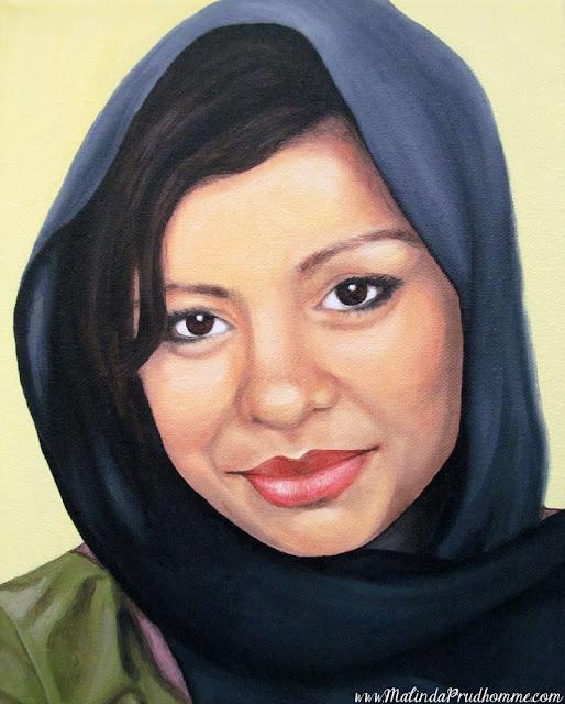 beauty art, portrait artist, portrait painting, cultured beauty, oil painting