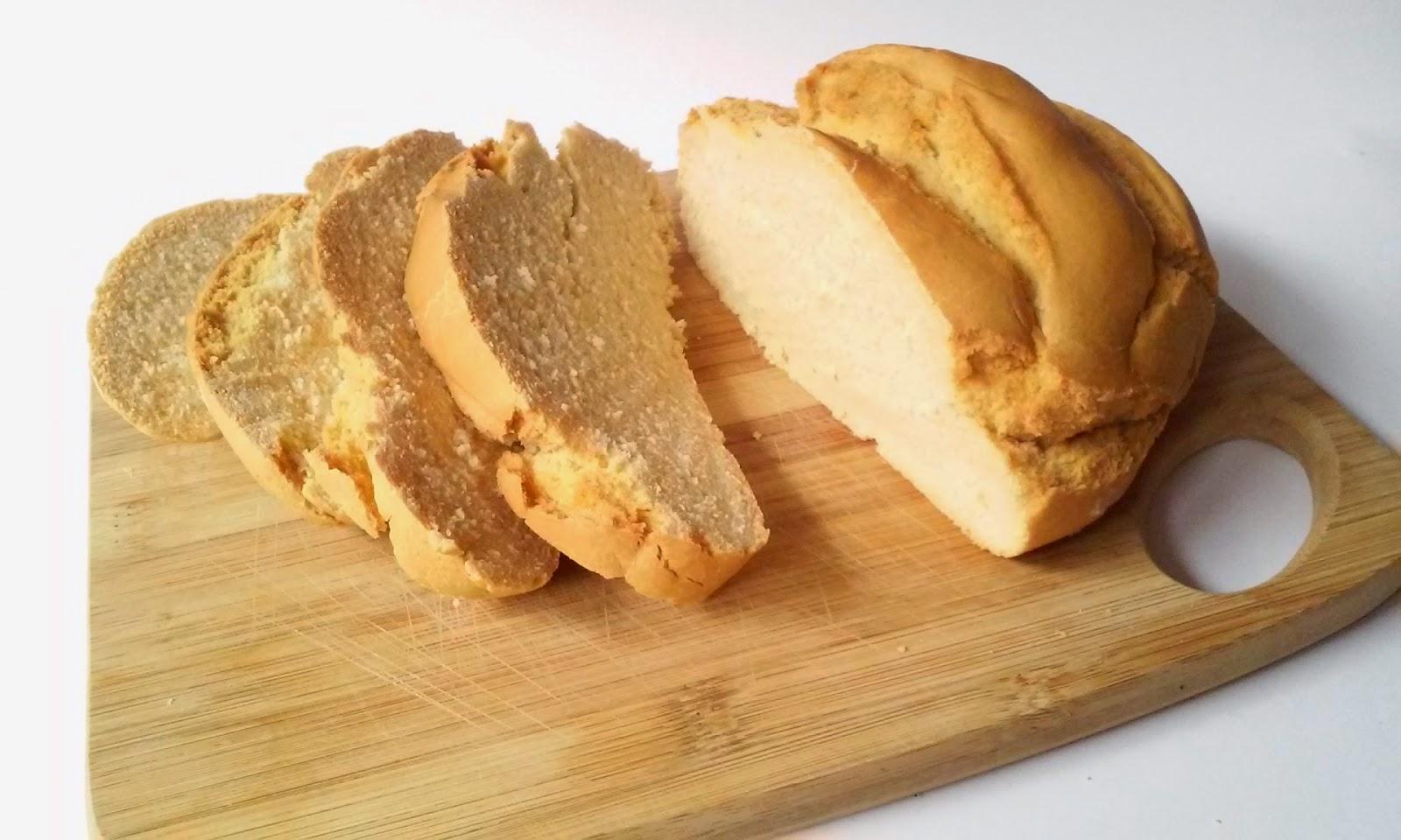 Pan en olla o cacerola de cristal
