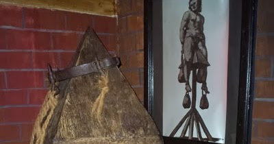 judas cradle torture video