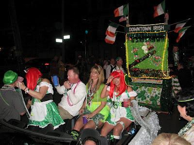 Downtown Irish Club Parade, St Patrick's Day 2012, NOLA