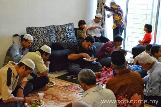 Majlis kesyukuran dan doa selamat