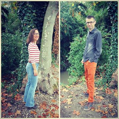 Petits bonheurs Pensée positive Couple Amour OOTD Mode Fashion Duo