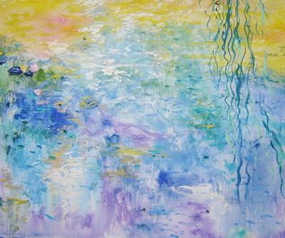 """""""Monet in my mind"""" de Natàlia Ruiz Llopart, poema del día, Gabriel Celaya, poesía en Alcalá de Henares"""