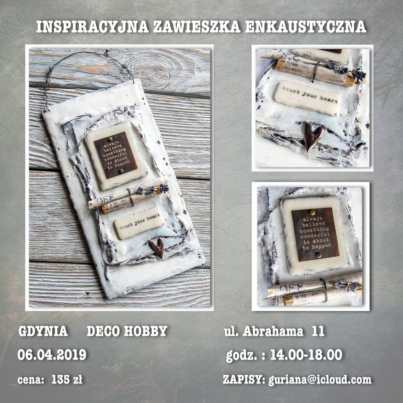 Gdynia Zawieszka enkaustyczna