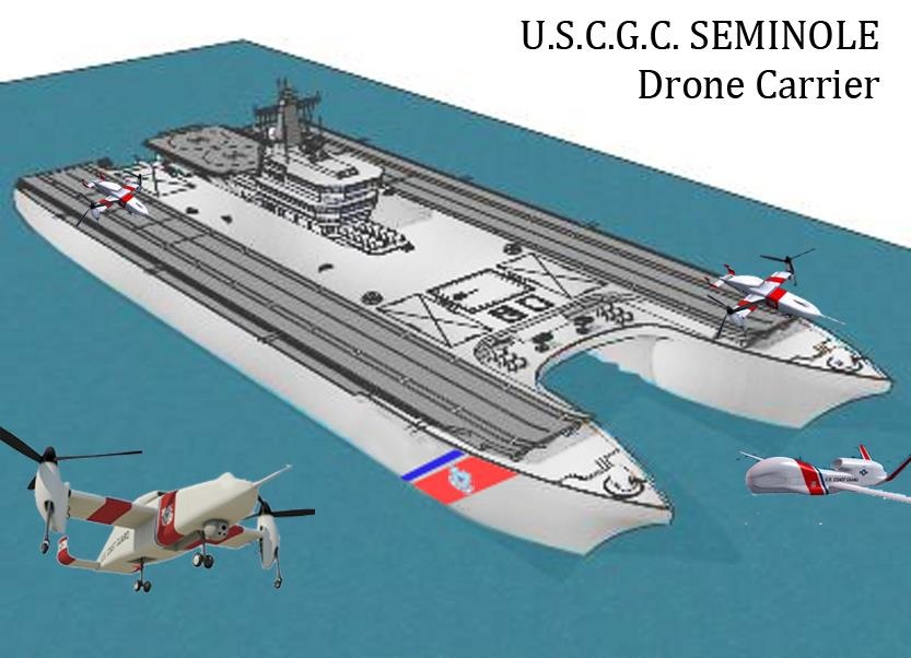 Future Ship Design : Next big future drone carrier naval ship designs