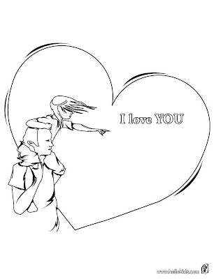 i love you white drawings Wallpapers