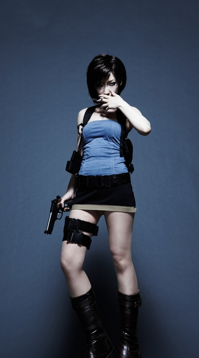 Jill Valentine Resident Evil Cosplay by Omi Gibson
