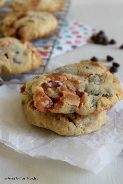 Marshmallow & Chocolate Chip Cookies