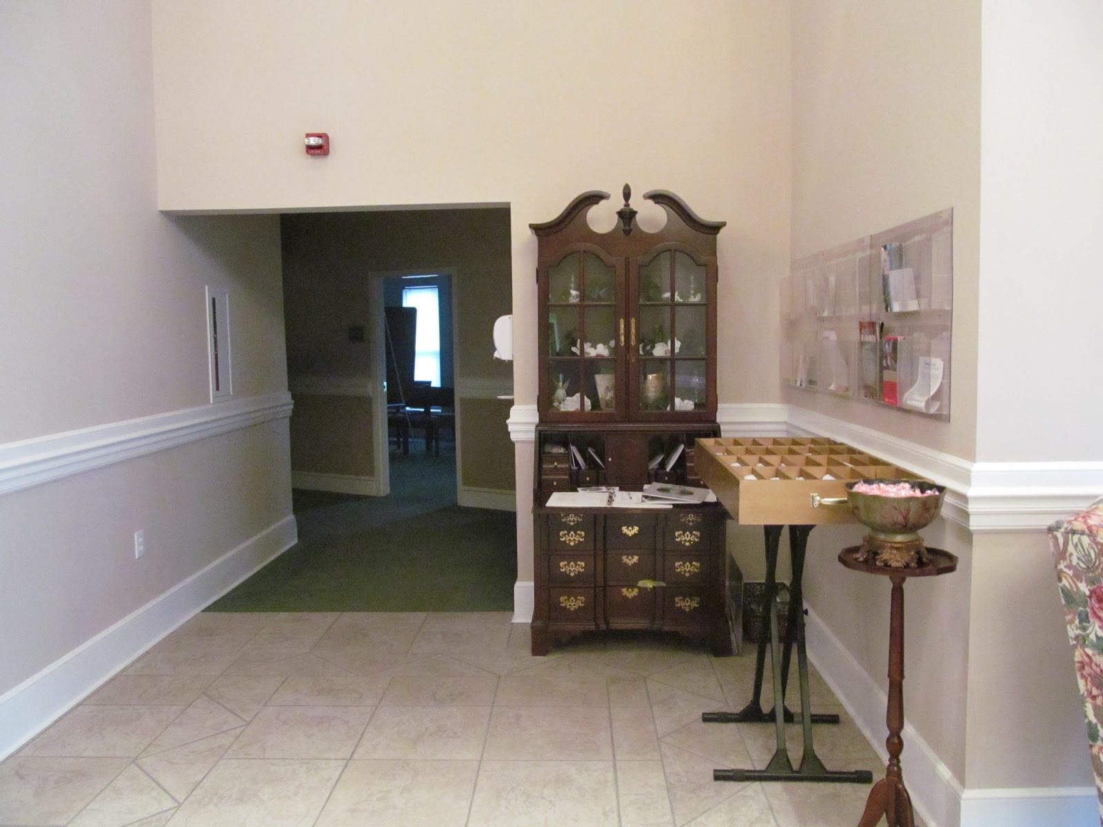 project reveal church foyer makeover